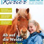 Titel der Ausgabe April 2017 Reiter-Kurier