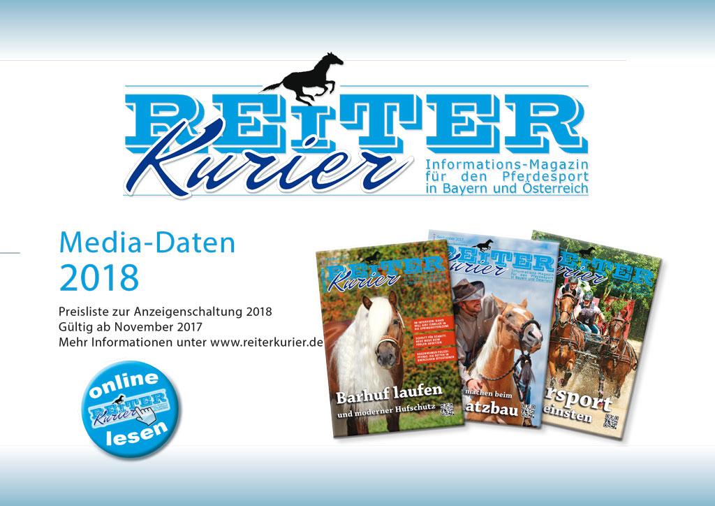 Reiter-Kurier Mediadaten 2018