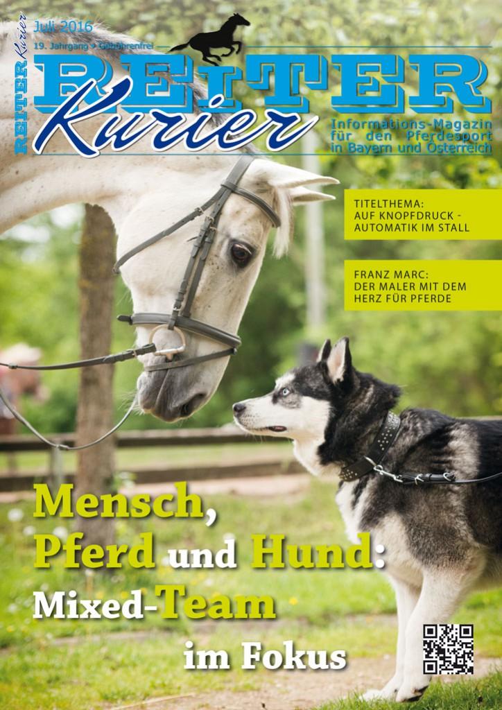 Automatik im Stall - Mensch, Pferd und Hund