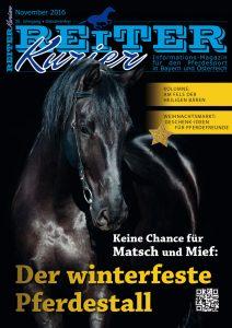 Ausgabe November 2016 winterfeste Pferdestall