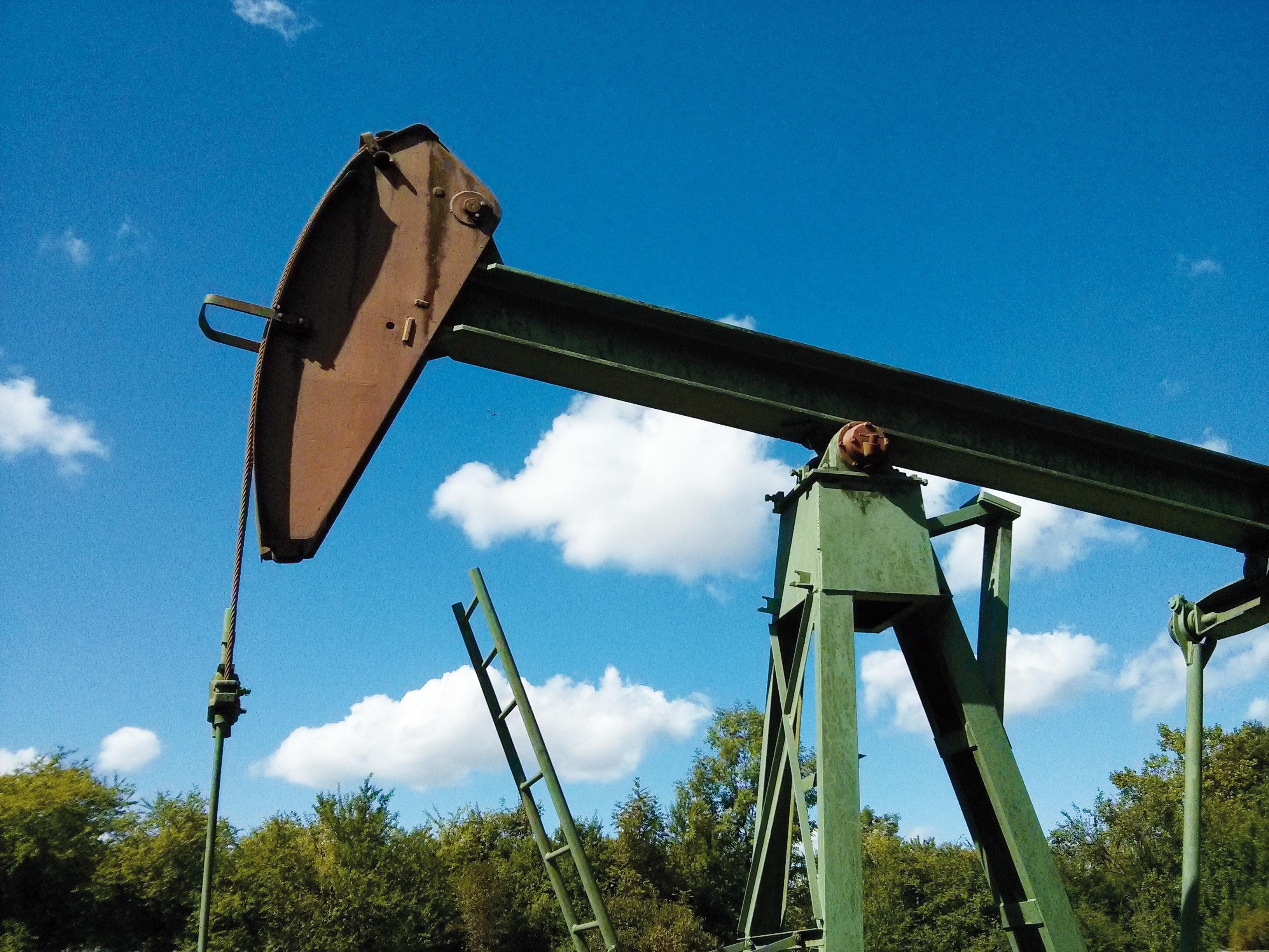 Ölbohrung