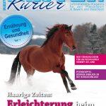 Titelbild des Reiter-Kurier Februar 2017 Haarige Zeiten