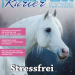 Titel der Ausgabe Dezember 2017 des Reiter-Kurier-Stressfrei durch den Winter