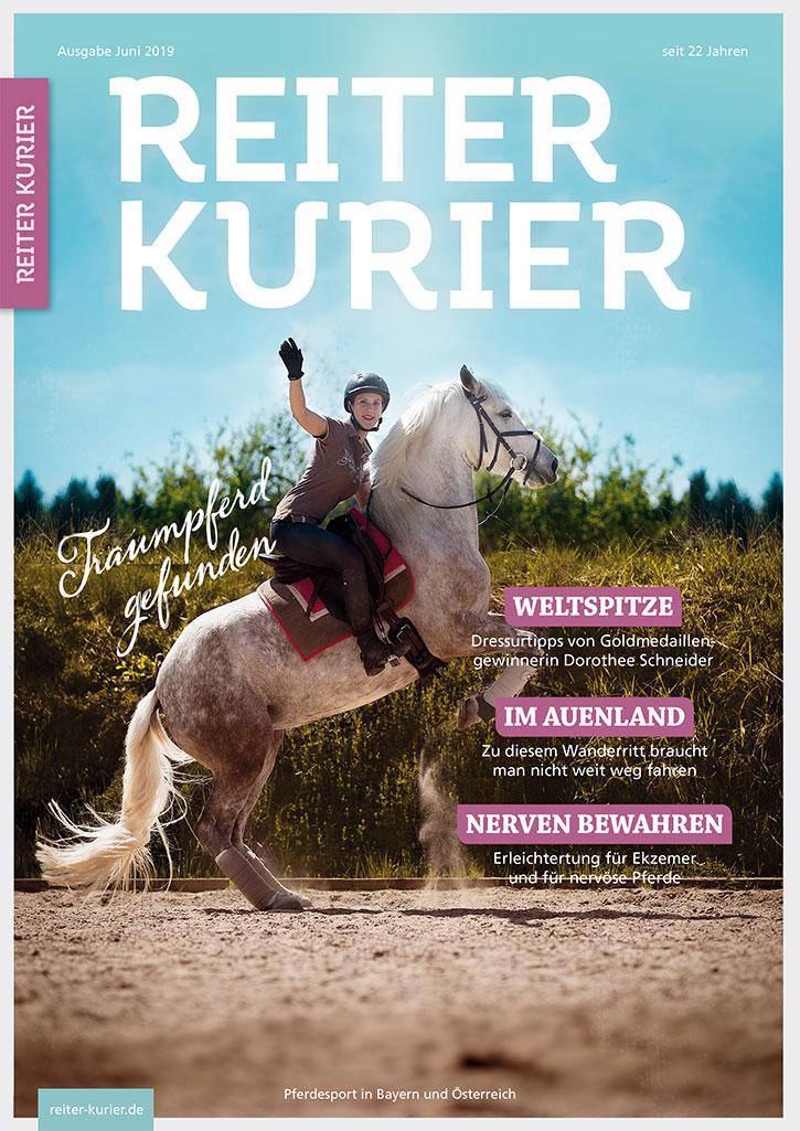 Reiter-Kurier Juni 2019 - Titel - Das perfekte Reiterauto